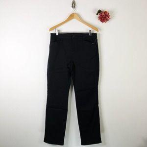SUSAN GRAVER Stretch Straight Jeans